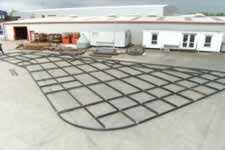 Cycle compound roof structure